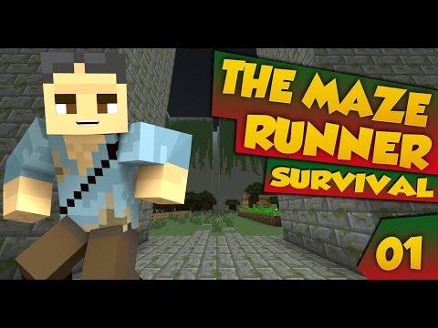 MINECRAFT : MAZE RUNNER SURVIVAL  C'E' NESSUNO?!? #1