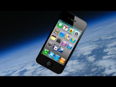 iPhone 4S in Space