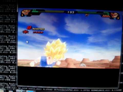 emulador ps2 y wii (dragonball z budokai tenkaichi 3 y super smash bros brawl)