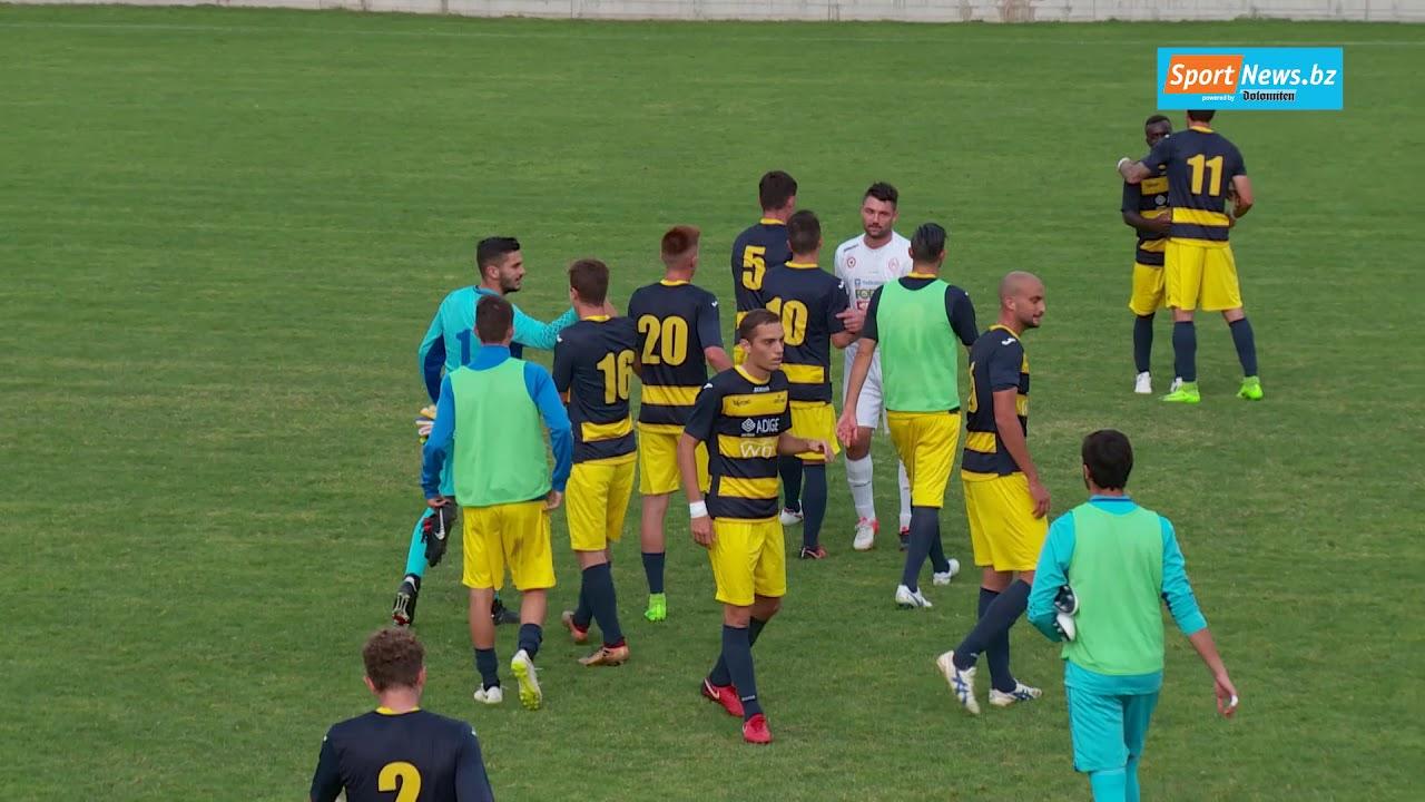 Serie D: St. Georgen - Levico Terme 0:2