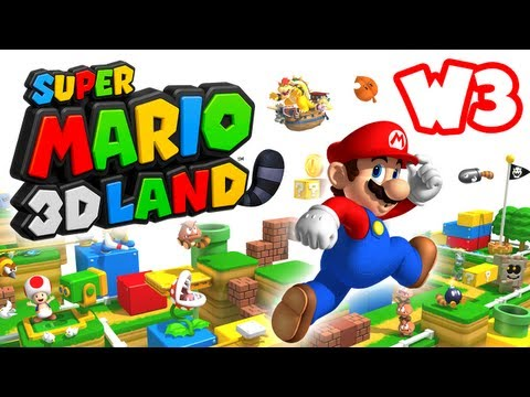 Super Mario 3D Land - World 3 (Nintendo 3DS Gameplay Walkthrough)