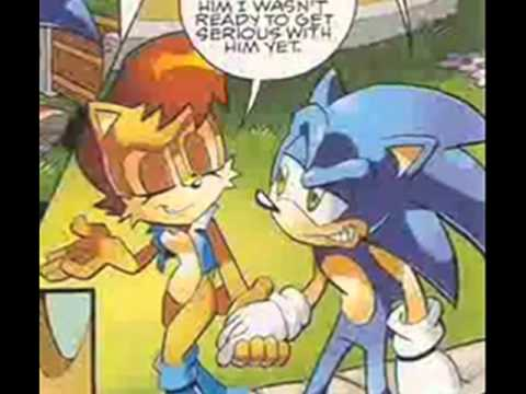 Sonic and Sally Tribute-If U seek Amy.wmv