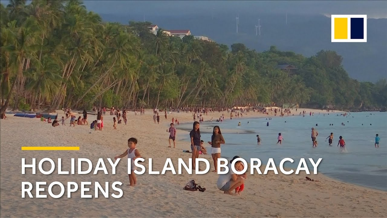 Philippines reopens holiday island Boracay after six-month clean up