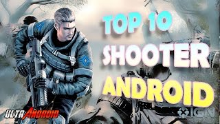 TOP 10 MEJORES JUEGOS SHOOTER Android Multiplayer Online FPS 2016