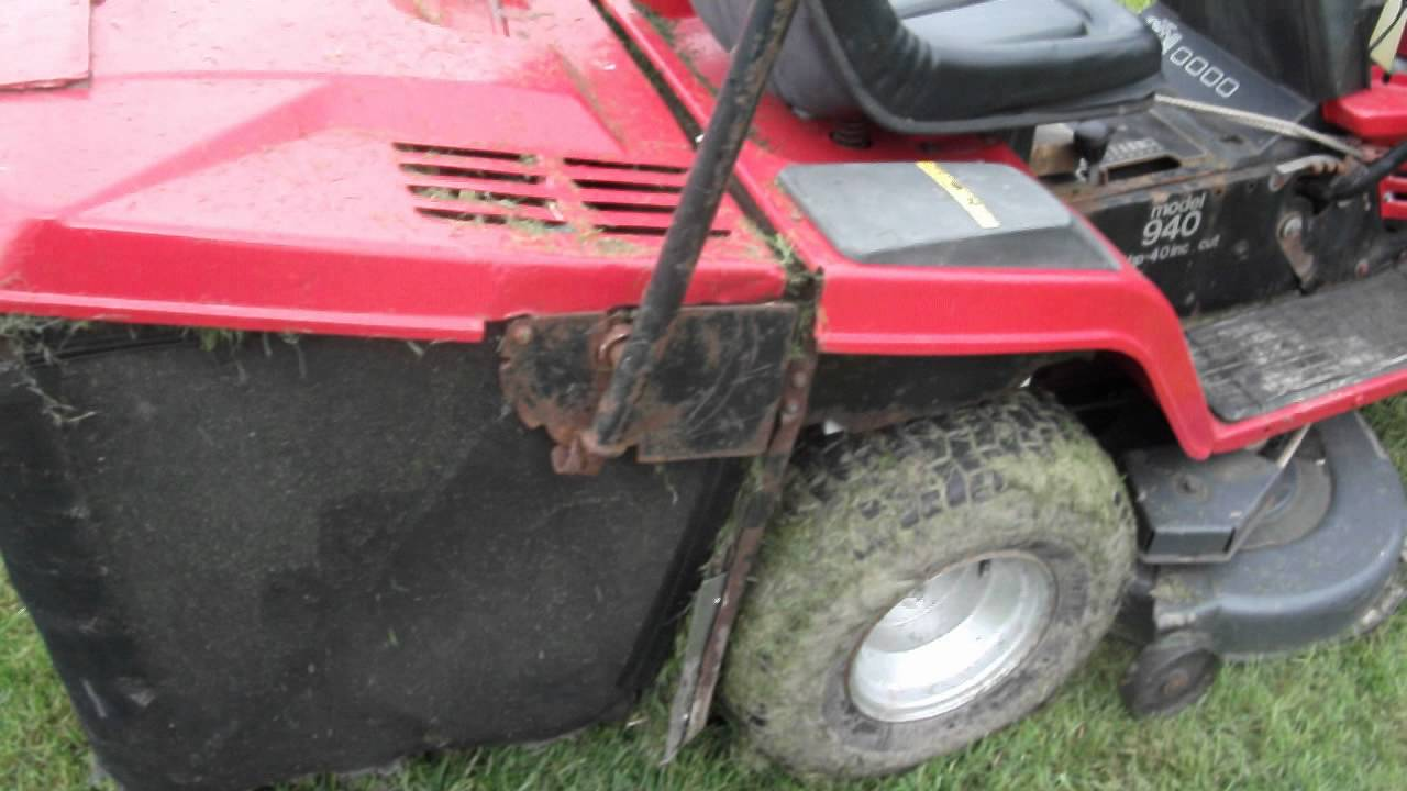 Ride On Mower >> MTD lawnflite ride on mower - YouTube