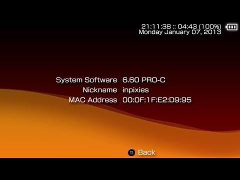 [TUTORIAL]Instalación de PSP-3000 CFW 6.60 PRO-C (Descarga)[MF]