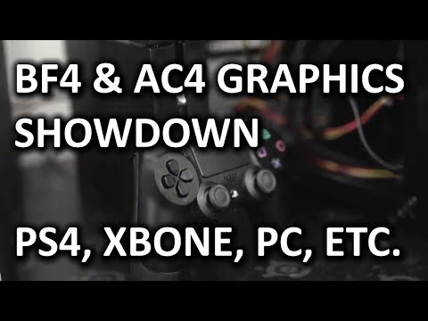 Next Gen Console vs PC in AC4 & BF4 - Image Quality Showdown - Xbox One vs PS4 vs Xbox 360 vs PC
