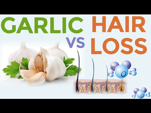 Ginger Garlic for Hair Growth and hair loss prevention - DIY hair loss treatment