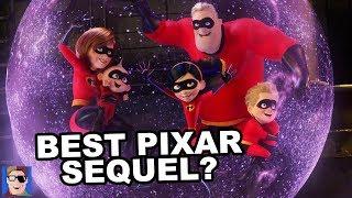 Is Incredibles 2 The Best Pixar Sequel? | SPOILER REVIEW