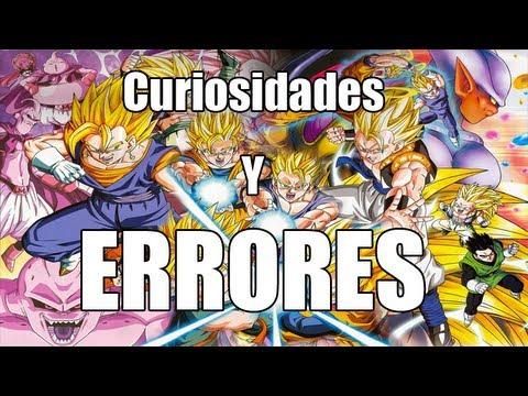 Curiosidades y errores de Dragon Ball Z y GT + La Batalla De Los Dioses 2013