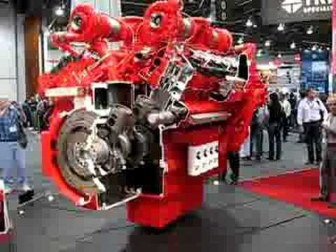 Minexpo 2008 - Cummins QSK60 Diesel Engine