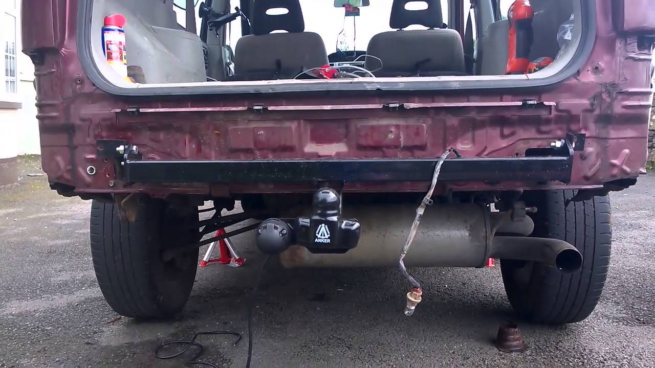 Diy How To Install A Towbar On A Nissan Xtrail T30