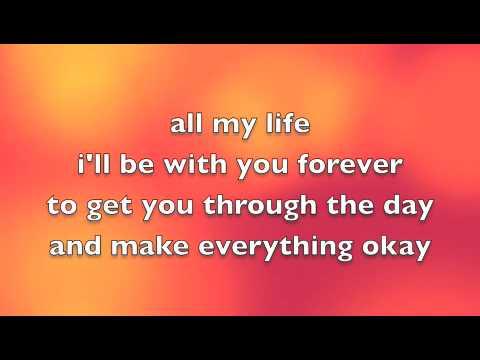 Avril Lavigne Feat. Leona Lewis - I Will Be Lyrics video