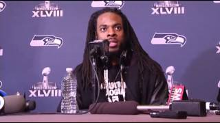 Seattle Seahawks Arrive in New Jersey  1/27/14  (Sports)