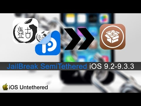 [Tutorial Idevice] JB SemiTethered iOS 9.2-9.3.3 [PP25]