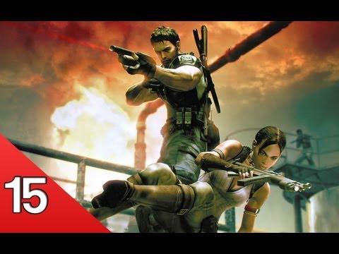 Resident Evil 5 Co-op W  Рос Епизод 15 - Tentacle Rape video