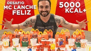 10 Happy Meal Challenge!!