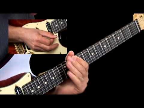 Slash Chord Progressions - #4 Dm Bb/D C/D - Guitar Lessons - Brad Carlton