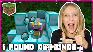 Finally, I Found Diamonds / Minecraft Realm
