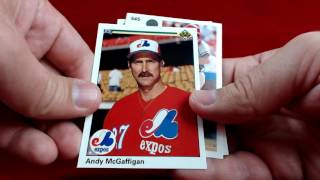 Ripping a Pack of 1990 Upper Deck Baseball