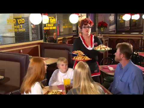 Chattanooga's City Cafe Diner Commercial featuring Viv the waitress