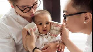 TIN TỨC  - Boy Love hạnh phúc đón đứa con trai đầu lòng