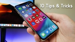 10 Tips & Tricks For iPhone XS & XS Max!