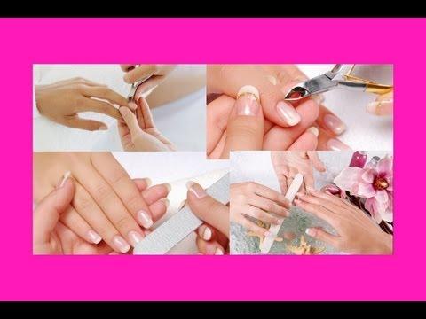 Как сделать классический маникюр / How to make classic manicure - Video Forex