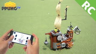 LEGO Angry Birds 75825 RC motorized Piggy Pirate Ship by 뿡대디