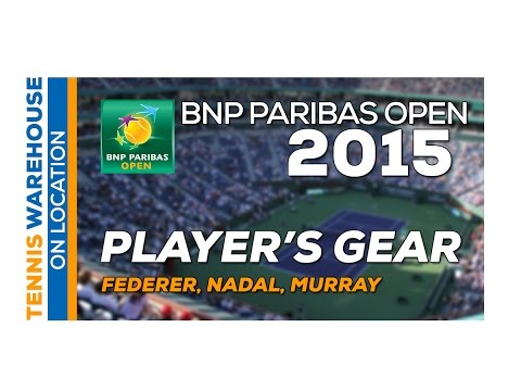 Roger Federer, Rafael Nadal, Andy Murray BNP Paribas Open 2015 Practice