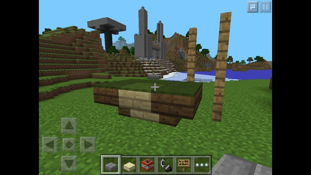 Minecraft pe How to Make a