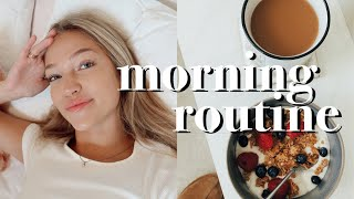 college morning routine: senior year | maddie cidlik