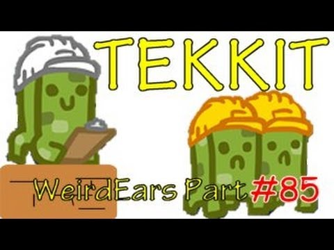 Tekkit 1.5.1 - WeirdEars Industries - Part 85 - More magic crafting recipes