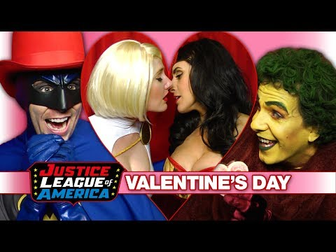 A Super Sexy Justice League Valentine's Day video