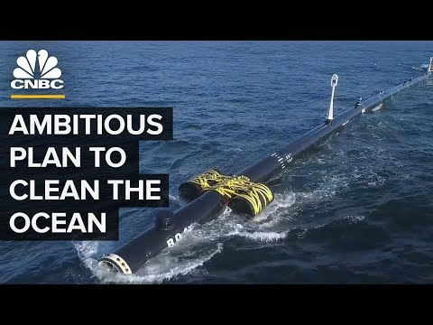Ocean Cleanup Launched A Plastic Catcher