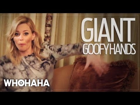 Really Important Questions with Elizabeth Banks: Do Disneyland Characters Smile?