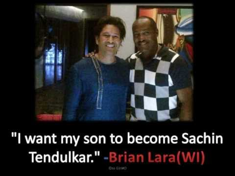Brian Lara on Sachin Tendulkar Retirement