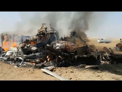 Derriban un helicóptero ruso en Siria y matan a sus cinco ocupantes