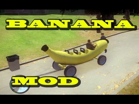Banana Car (MOD) - Grand Theft Auto IV HD