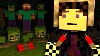 ЧЕЛОВЕК ИЛИ ЗОМБИ?! ЗОМБИ АПОКАЛИПСИС! ПОСЛЕДНИЙ ВЫЖИВШИЙ?! - (Minecraft - Сериал)