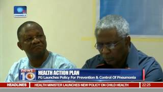 FG Launches Policy For Control & Prevention On Pneumonia