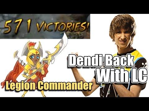 Dota 2 Dendi Legion Commander