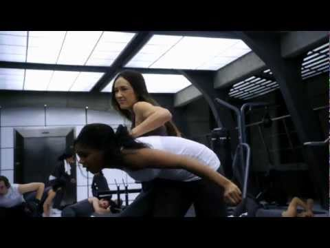 Nikita Fight Scene / Escape from Amanda (from S01E11