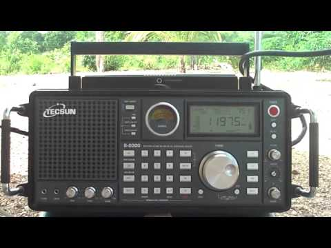11975 kHz Seems the BBC with African sports news. French Language