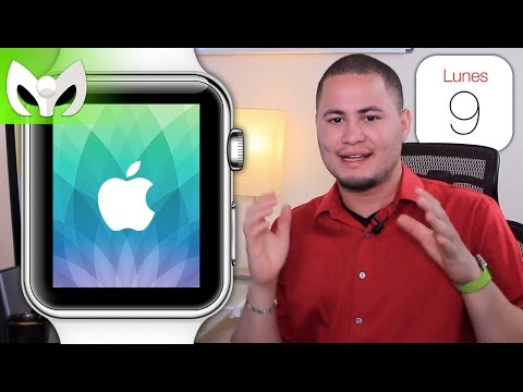 Nuevo Evento Apple Invitaci�n (Apple Watch Event - Spring Forward - Marzo 9)