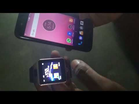 Smart watch review and apps review camera usage of smart mobile watch
