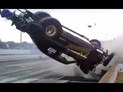 Драг рейсинг аварии. Drag Racing crashes 2015