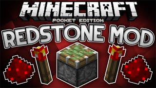 Minecraft PE Mods | REDSTONE COMO EN PC | Mods Para Minecraft PE 0.15.2