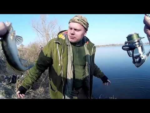 судак ловля на днепре видео