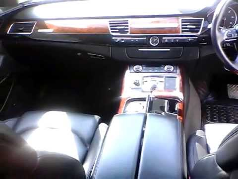 Audi A8 a Diesel car of April 2011 make